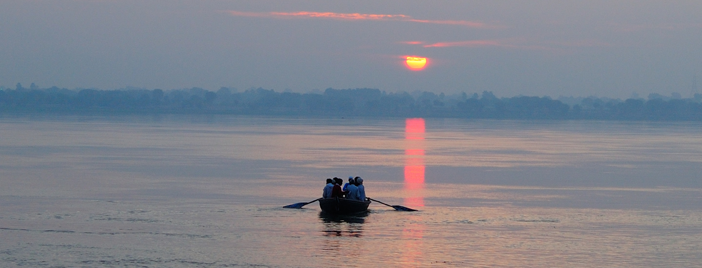 Sunrise at The Ganga, Varanasi